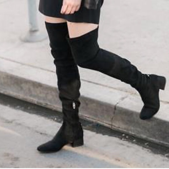 61372b741ef Dolce Vita Jimmy Boots Black Stella Suede
